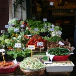 Fresh Market In Italy