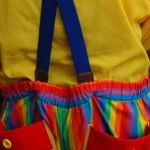 Colorfull Clown Behind